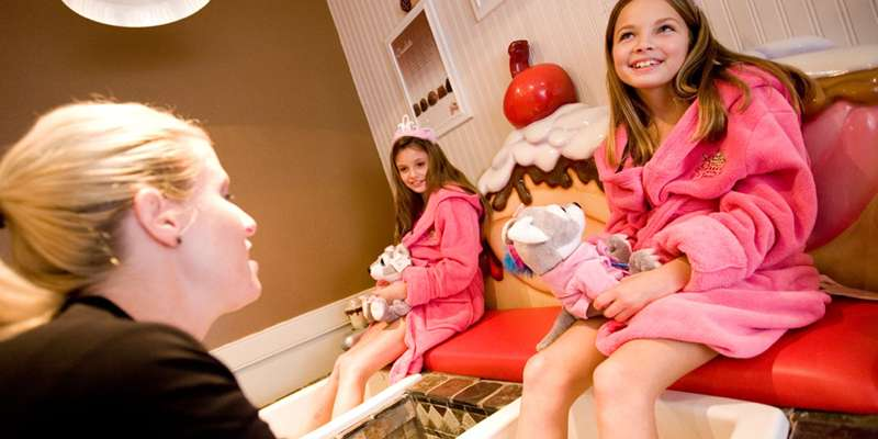 Scooops Kid Spa at Great Wolf Lodge